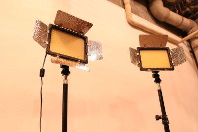 LEDビデオライト - studio With The Heart Aスタジオの設備の写真
