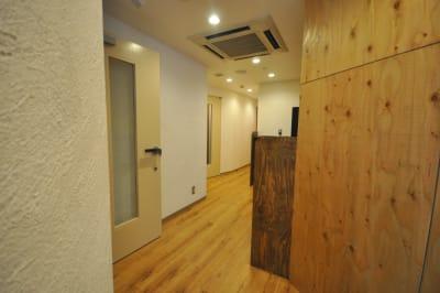 廊下です。 - スタジオパックス 北千住店 テレワーク用の防音スペースのその他の写真