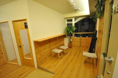 3階喫煙所入り口です。  - スタジオパックス 新松戸店 テレワーク用の防音スペースのその他の写真
