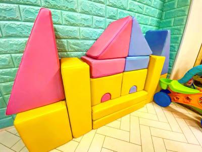 クッション積み木 - レンタルルーム アンファン キッズスペース付レンタルスペースの室内の写真