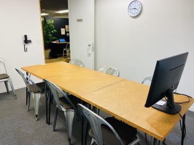 GOODOFFICE有楽町 会議室3(完全個室)の室内の写真