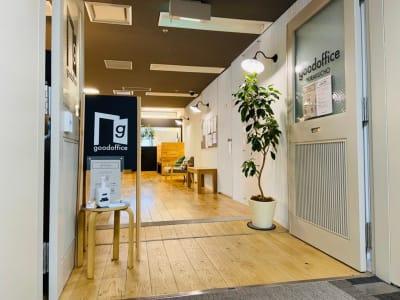 GOODOFFICE有楽町 会議室1(完全個室)の入口の写真