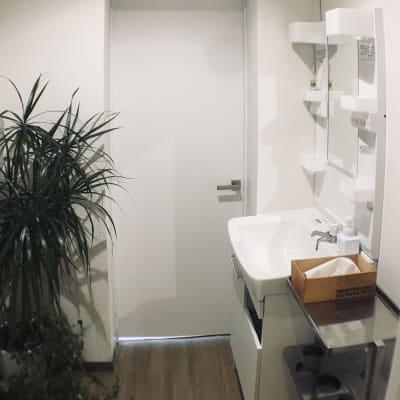洗面所(共用スペース) - レンタルサロン アイリー シェアベッド(半個室タイプ)のその他の写真