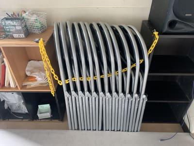 折りたたみ椅子は有料です。  - カトゥーンダンススタジオ レンタルスタジオの設備の写真