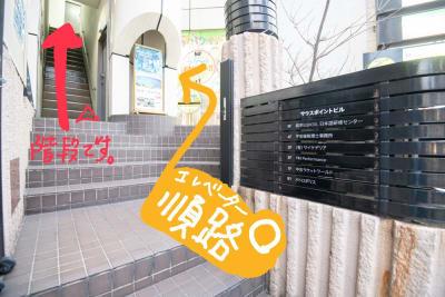 難波CITY南館前多目的スペース 2+1部屋自由使用ワンフロア貸切の入口の写真