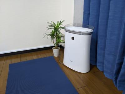 空気清浄機あります。 - レンタルスタジオアルル上本町の室内の写真