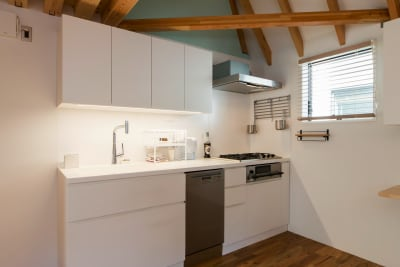 キッチン - 代々木公園Yハウス レンタル撮影スタジオの設備の写真