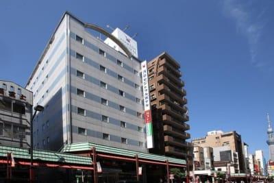 浅草セントラルホテル パーティールーム(宴会場)の外観の写真
