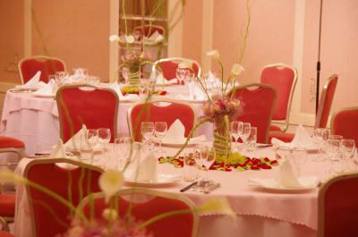 浅草セントラルホテル パーティールーム(宴会場)の室内の写真