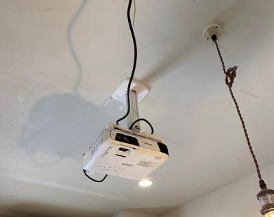 プロジェクターがご利用いただけます - 不動産cafe 貸会議室 ミーティングルームの設備の写真