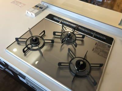 キッチンコンロ - みんなのリビング 多目的スペースの設備の写真