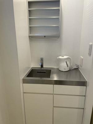 キッチン・T-fal 1.2L - レンタルサロン ABS サロンスペースの設備の写真