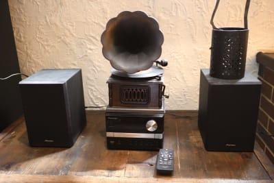 音響設備 - レストラン「アンダンテ」 昭和レトロ【駅徒歩3分】大人の空間の設備の写真