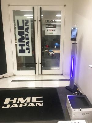 HMC JAPAN 渋谷 マシンRoom5の入口の写真