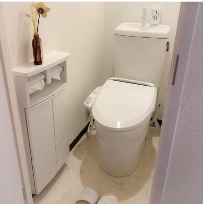 お手洗い - プライベートサロン ルシェルロゼ サロンルームの室内の写真