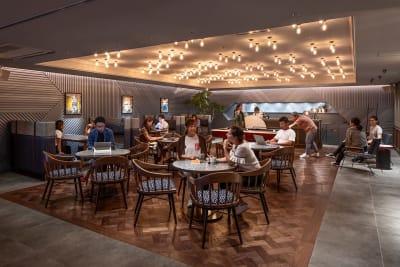 【LIBRARY】 開放的で料理教室などに最適な空間。  - THE LIVELY福岡 バンケットホール(2階)の室内の写真