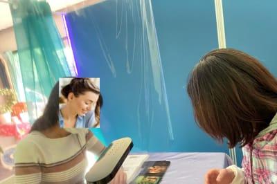 スペースを利用した勉強会風景 - ソウルメイト ソウルパレス 多目的スペースの室内の写真