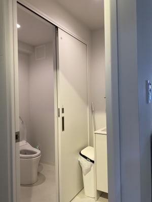トイレも最新式で綺麗です - KIRKE(キルケ)スタジオ 個人撮影、料理撮影、会議室の設備の写真