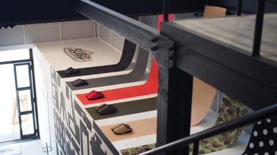階段横スペースもご利用頂けます。 ※設営時のみ人の立ち入りOK - soko station 146 イベント・撮影スペースの室内の写真