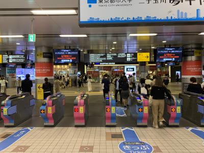 二子玉川駅改札をぬけます。 - i,i,i, ハウススタジオのその他の写真