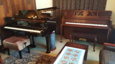 YAMAHA C2L KAWAI 608(オプション)  - グランドピアノサロン 風の音 グランドピアノ利用(2名様以内)の設備の写真