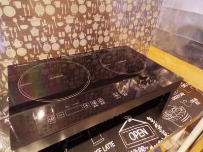 かがやキッチン 多目的スペースの設備の写真