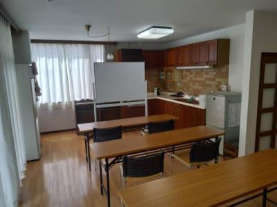 教室運営 - おうちスペースflat キッチン付きレンタルスペースの室内の写真
