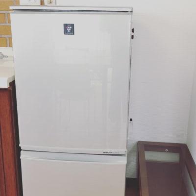 冷蔵庫 - おうちスペースflat キッチン付きレンタルスペースの設備の写真