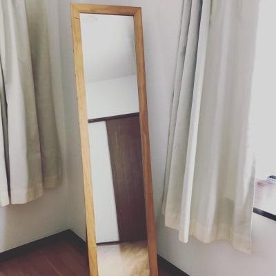 鏡 - おうちスペースflat キッチン付きレンタルスペースの設備の写真