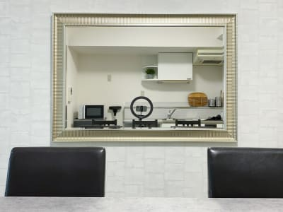 大きい鏡♪ - H.R.S.O 矢場町 Heavenly 矢場町の室内の写真