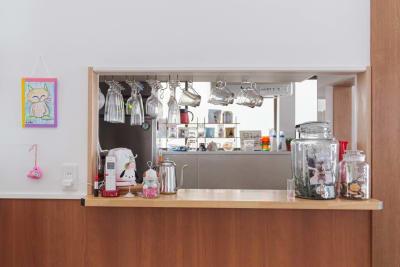 レンタルキッチン - KIKCAFE コワーキングカフェの室内の写真