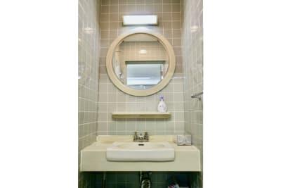 洗面所 - スペースコネクト中目黒 ソロブース1の設備の写真