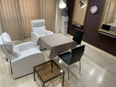 JK Salon 今泉店 広々ゆったりしたレンタルサロン♪の室内の写真