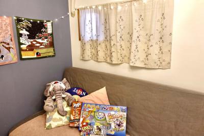 ボードゲーム用意しました。 - GBL HOUSE OSAKA 駐車場付きおしゃれな戸建て貸切の室内の写真