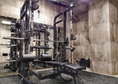 シュシュBox Gym上尾店の室内の写真