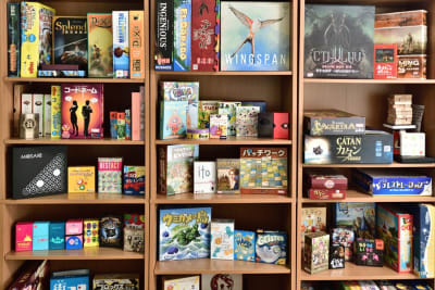 ボードゲーム - 新宿御苑Banksyスペース ボドゲ多数!徒歩3分25名可能の設備の写真