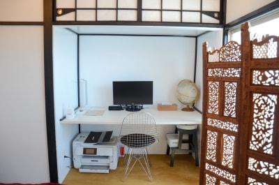 チルチルミチル KEYHOLE ROOMの室内の写真