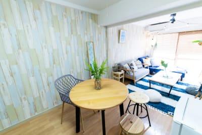 エルズビーチ 渋谷徒歩3分✨西海岸リゾートの室内の写真