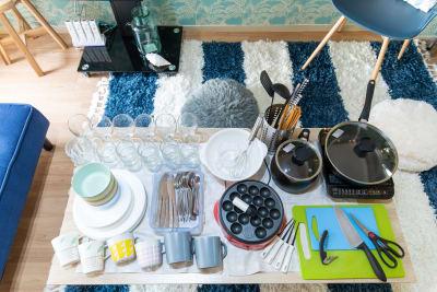調理器具 - エルズビーチ 渋谷徒歩3分✨西海岸リゾートの設備の写真