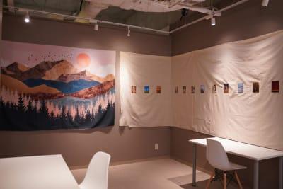 用途に合わせて様々なスペースを使うことができます。 【写真の場所】 室内フリースペース約50㎡ - TAGE-community 室内フリースペースご利用プランの室内の写真