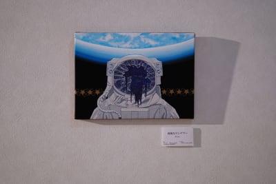 壁に、美術作品が展示してあります。 - TAGE-community 室内フリースペースご利用プランの設備の写真