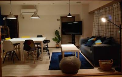夜の雰囲気 落ち着いた空間 - sima sima西宝町 女子会・パーティールームの室内の写真