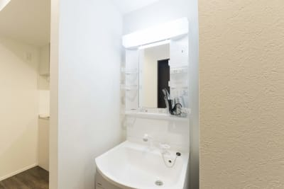 洗面台 - 尾久Ⅳ 103号室の設備の写真