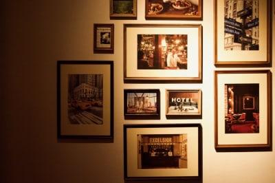 壁面デザイン - ハイライン鹿児島 3階 カフェバースペースの室内の写真