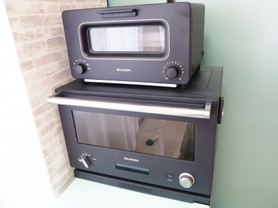 BALMUDA レンジ&トースター設置しています✨ - サンライズ新宿 サンライズ新宿211の設備の写真