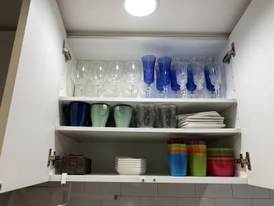 食器類 - ブルーバード5 レンタルサロン、多目的スペースの室内の写真