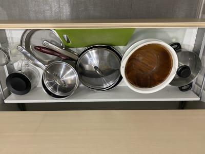 調理道具 - ブルーバード5 レンタルサロン、多目的スペースの室内の写真