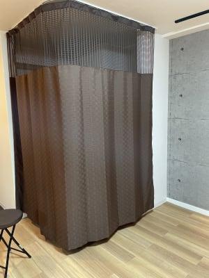 こちらは更衣室になっております。 - スタジオ My style レンタルスタジオの設備の写真