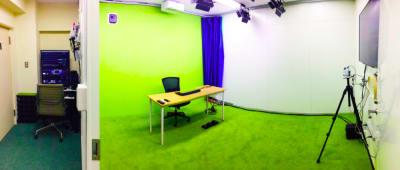 本社スタジオ(小) - 東京セミナースタジオ オンライン動画スタジオの室内の写真