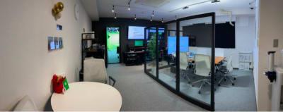 プレビュールーム・控え室(中) - 東京セミナースタジオ オンライン動画スタジオの設備の写真